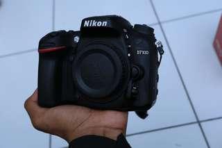 Nikon d7100 lensa nikkor 35-70mm no box