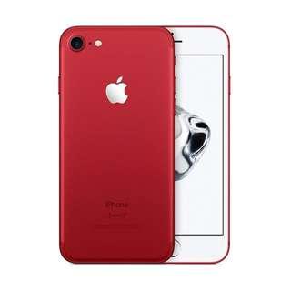 Kredit Apple iPhone 7 256GB Red Edition Garansi Resmi