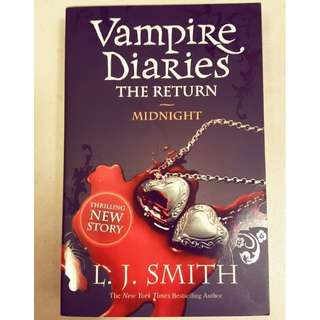 Vampire Diaries ~ The Return, Midnight by L.J. Smith #ramadan50