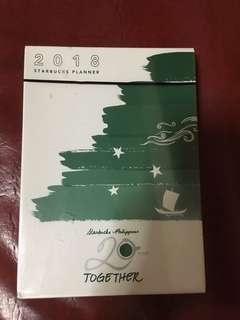 SALE! 2018 Starbucks planner