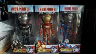 Avengers 復仇者 Marvel Iron Man 鋼鐵奇俠 Q版人形 全新正版