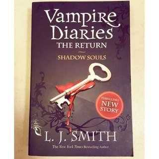 Vampire Diaries ~ The Return, Shadow Souls by L.J. Smith #ramadan50