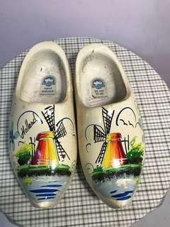 🚚 木製大荷蘭鞋