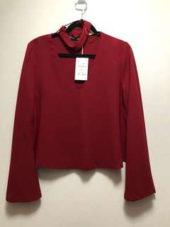 ZARA TOP (TRAFALUC WEAR) BNWT