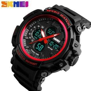 Jam tangan skmei 1343 original + box