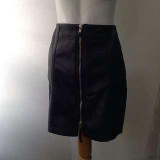 HnM leather skirt