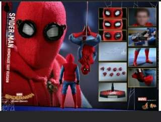 MMS414 SPIDER-MAN HOMECOMING HOMEMADE SUIT VERSION 1/6 SCALE FIGURE