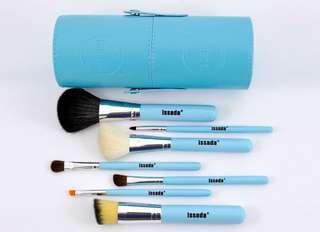 Issada Limited Edition Aqua Series Travel Brush Set