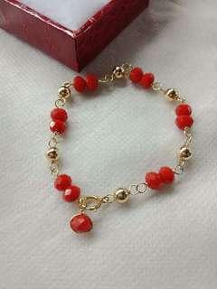 10k baby bracelet..