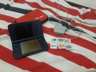 FOR SALE Nintendo New 3DS XL with 6 games, Charger, And Pouch