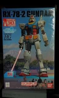 Bandai Gundam RX78 高達30週年 日本台場特別版 全新正版未開封