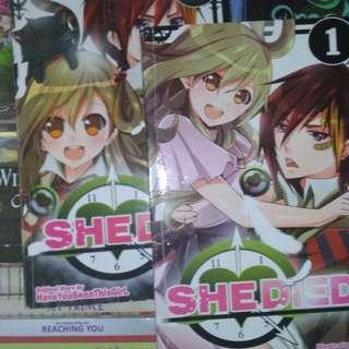 She died manga 1&2