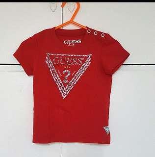 Original red guess shirt