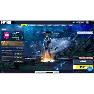 Fortnite Account w/81,450 VBUCKS