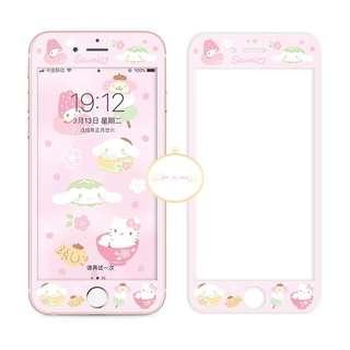 可愛粉紅Sanrio角色手機mon貼📱 (6/6s/6+/6s+/7/7+/8/8+/X)