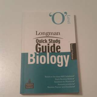 Longman Quick Study Guide Biology