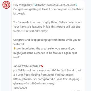 Highly Rated Seller! Thank you!!
