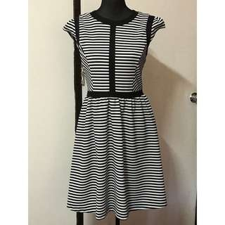Dorothy Perkins striped swing dress