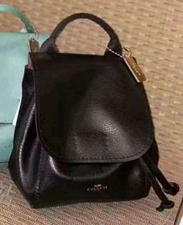 Coach leather small backpack Crossbody