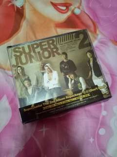 •used• super junior 2nd repackaged album don't don