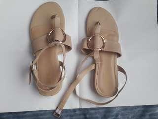 Light Brown Sandals (Size 8)