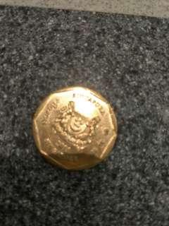 Sisn 1 dollar coin