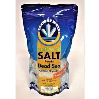 Dead Sea Salt (Coarse & Fine) 500g