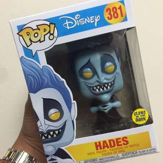 Disney Hades (Glows in the Dark - No HT Sticker)