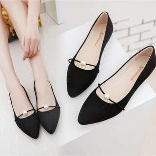 Mutiara Sandal High Heel Kasut Tinggi Slipper Shoe / Black Pink Grey Green