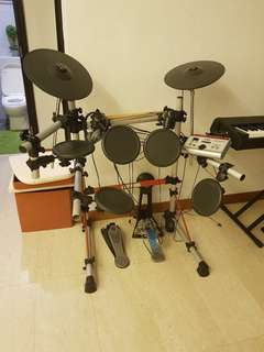 Yamaha drum set dtx express