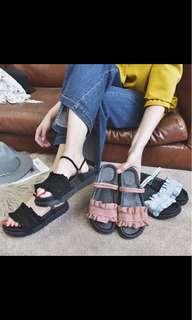 🚚 花邊涼鞋👡
