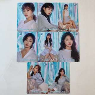 Lovelyz Yes! Card 第35期 白卡