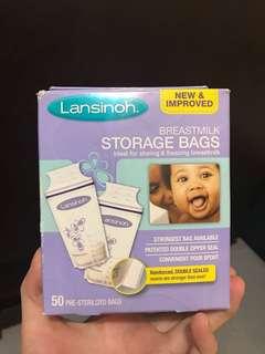 哺乳用品 lansinoh儲奶袋