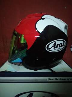 Arai Helmet kenny roberts red