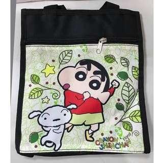 蠟筆小新CRAYON SHIN-CHAN野原新之助便當袋 才藝袋 補習袋 收納袋 置物袋