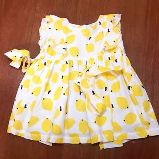 Crib Couture Lemon Dress