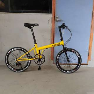 Anemos Yatch 22inch 11speed Folding Bicycle