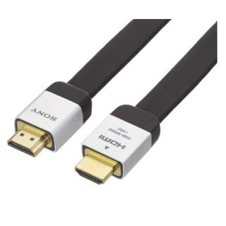 【前衛電腦】SONY HDMI 高畫質傳輸線 DLC-HE20HF 2米扁線 HDMI 1.4版