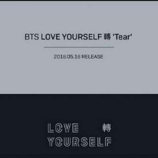 BTS - TEAR + giveaway