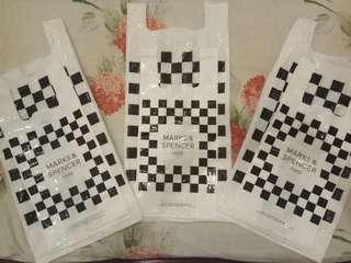 Plastic bag Marks & Spencer
