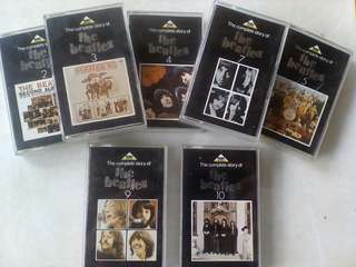 Kaset The completestory of Beatles.