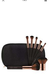 Nude by Nature makeup brush set