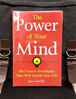 # Highly Recommended《New Book Condition + It's Our Mind That Can Change & Create Our World》Ian Gawler - THE POWER OF OUR MIND : 48 Creative Techniques That Will Enrich Your Life