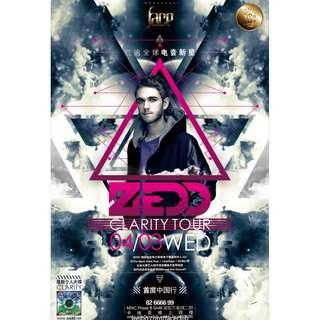 zedd posters