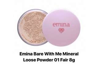 Emina Bare with Me Mineral Loose Powder 01 Fair 8g