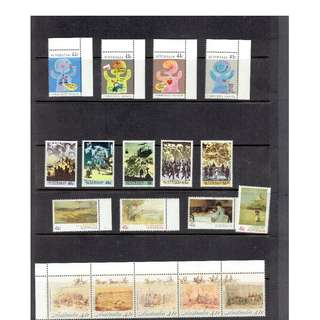 Ref Aus 02   Australian Mint Stamps  as in picture