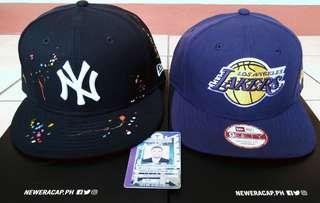New Era Cap (New York Yankees & LA Lakers)