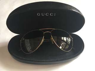 AUTHENTIC GUCCI Aviator Sunglasses