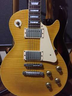 For sale only : Edwards Lemon burst Les paul