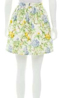 Miu Miu Floral Mini Skirt 花花迷你裙